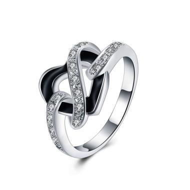 Bella & Co Ring LKNSPCR845-8 Aksesoris Cincin Lapis Silver