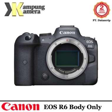 Canon EOS R6 (Body Only) Mirrorless Digital Camera Garansi Resmi Datascrip