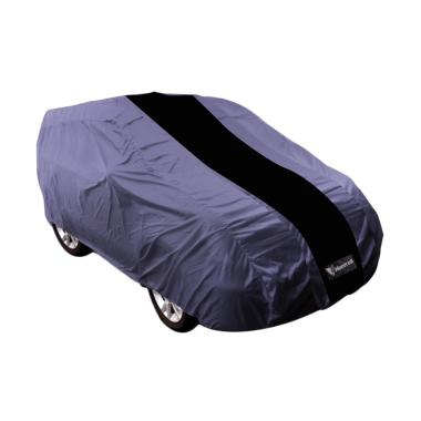 Mantroll Body Cover Mobil for Ford Everest - Abu Abu Strip Hitam