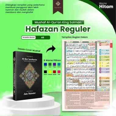 harga Mushaf Al Qur an King Salman Hafazan Regular Ukuran A5 Hitam Blibli.com