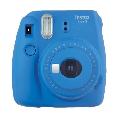 Fujifilm instax mini 9 Instant Film Kamera Polaroid - Biru jklensa