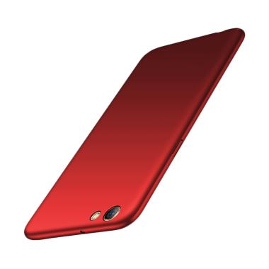 WEIKA Baby Skin Ultra Thin Hardcase Casing for OPPO F3 or A77 - Red