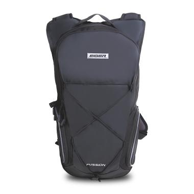 Eiger Riding Hydro Fussion Tas Ransel - Black [10L]