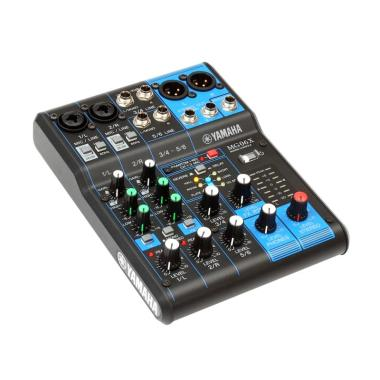 Yamaha MG60X 6 Channel Mixer - Hitam