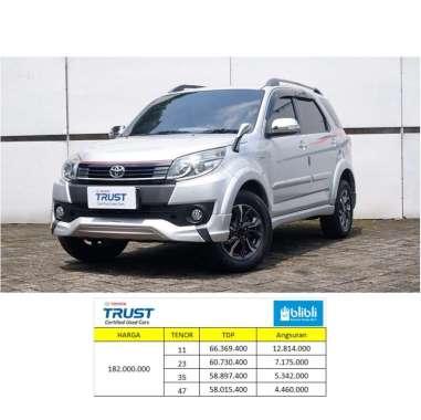 Toyota Rush 1.5 S TRD  2017 Mobil Bekas [Paket TDP] 47 - Silver A/T JADETABEK