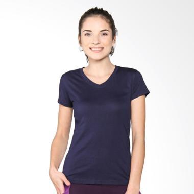 LEE VIERRA Basic Loose Tee Pakaian Olahraga - Navy