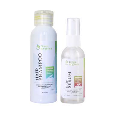 REVIEW Green Angelica Combo 3, vitamin rambut kering, obat penumbuh rambut botak BEST SELLER, penumbuh rambut botak, obat rambut rontok 100% asli BPOM Terbaik