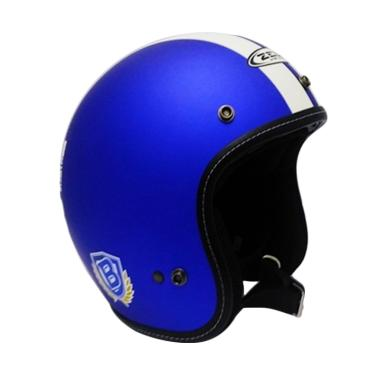 Zeus Retro ZS-385 Limited Edition Bobotoh Persib Helm Half Face