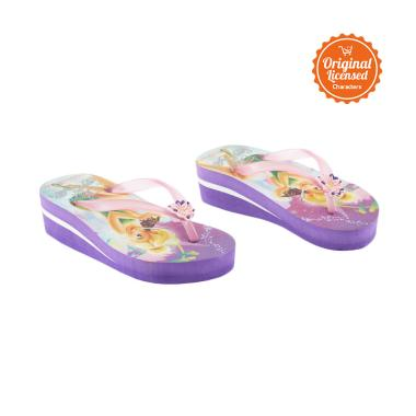 Tinker Bell Flip Flop Eva Sandals Anak Perempuan - Purple