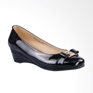 Ghirardelli Bryony Wedges Sepatu Wanita - Black