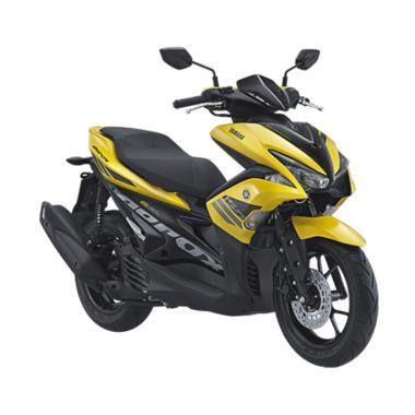 Yamaha Aerox 155 VVA Sepeda Motor - Yellow [OTR Jawa Timur]