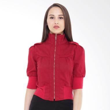 Mobile Power Ladies Bolero B7179 Jacket Wanita - Red