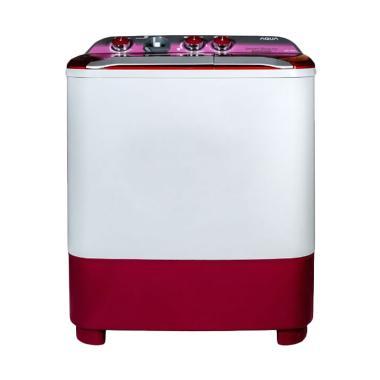 Aqua QW-780XT Mesin Cuci - Merah [7kg/2 Tabung]