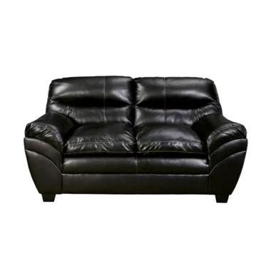 Ivaro Vera 2 Seater Sofa - Black