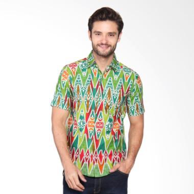 Bronco Slim Fit Kemeja Batik Print 1009H