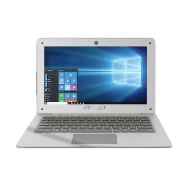 harga Axioo MyBook 14 Notebook  - Silver [Intel Celeron N3350/ 3GB RAM/500GBHDD/ 14 Inch] Blibli.com