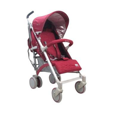 BabyDoes D200 Buggy Kereta Dorong Bayi - Wine Red