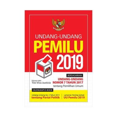 harga Genesis Buku Undang-undang Pemilu 2019 Blibli.com