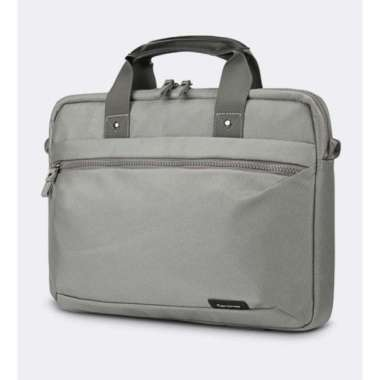 harga Promo Tas Laptop Selempang Cartinoe Briefcase Grey Series 13 14 inch Berkualitas Blibli.com