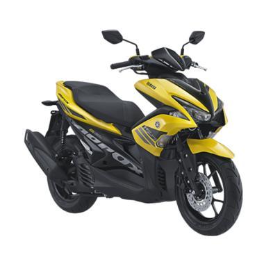 Yamaha Aerox 155 VVA Sepeda Motor [VIN 2019/ OTR Sumatera Utara]