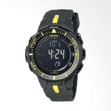 Casio Men's Pro Trek Triple Sensor  ... Black Watch PRG-300-1A9CR