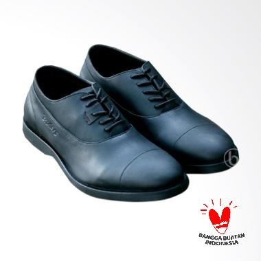 Bradley's Bradleys Eleanor Sepatu Kulit Pria Bradley - Black