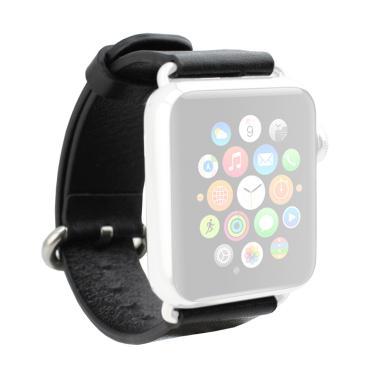 Pilih jenis Iphone Jam Tangan yang pantas dengan budget dan ukuran kantong  Anda. OEM Unisex Leather Strap for Apple Watch or iWatch 38 mm - Black 699e98fca8