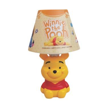 Disney Karakter Pooh Lampu Meja Tudung