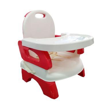 BabyDoes 07338 Foldable Booster Seat Kursi Makan Bayi - Red