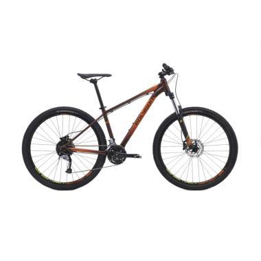 Polygon Premier 27.5 R Sepeda MTB - Brown Orange [16 Inch]