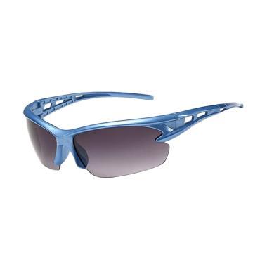 Korean Frame Biru Lensa Hitam Kacamata Sport [UK211]