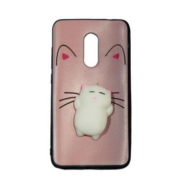 Winner Squishy Softcase Casing for Xiaomi Redmi Note 4X - Lazy Cat