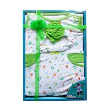 Kiddy 11155 Baby Gift Set Pakaian Bayi - Hijau