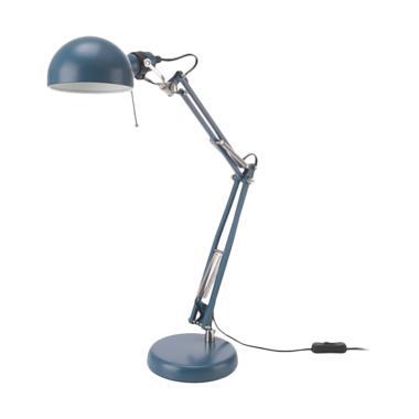 Ikea Forsa Lampu Meja Biru