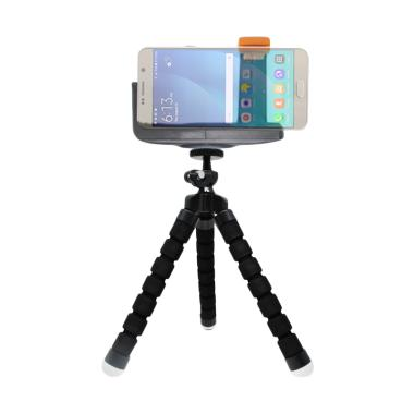Mine Spider Flexible Tripod Mini wi ... ip for Smartphone - Black