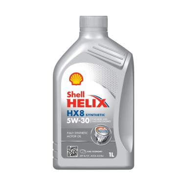 Shell Helix HX8 5W 30 API SN CF Fully Synthetic Pelumas Oli Mesin Mobil