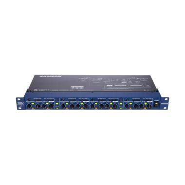 Samson S.com 4 Compressor Gate Aksesoris Audio - Blue Black