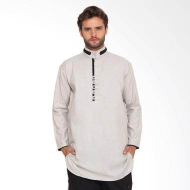 Zayidan Baju Muslim Gamis Yazid Pria - Cream