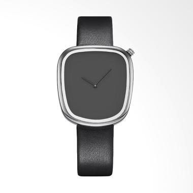 SINOBI SNB9705A-A Brand Simple Styl ... ther Ladies Watch - Black