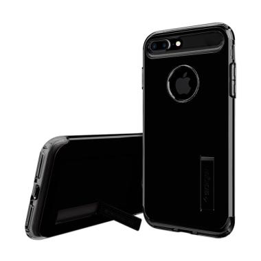 Spigen Slim Armor Casing for iPhone 8 Plus Jet - Black