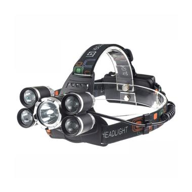 OEM Headlamp HL40 4x Cree XP-E + 1x ...  Flashlight Senter Kepala