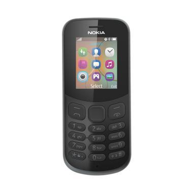 Nokia 130 New 2017 Candybar Handphone – Black [Dual Sim/Camera]