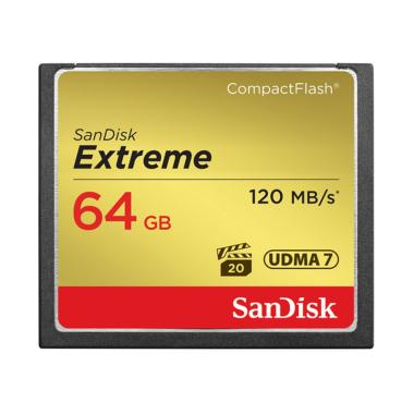 Sandisk Extreme CF Memory Card [64 GB/ 120 MB/s]