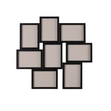 Ikea VAXBO 8in1 Photo Frame Bingkai Kolase for 8 Gambar - Black
