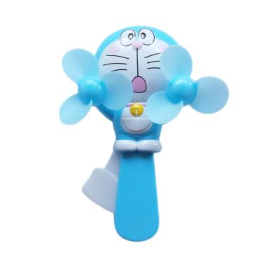 Momo toys Doraemon Manual Hand Pressure Fan Kipas Angin Multicolor