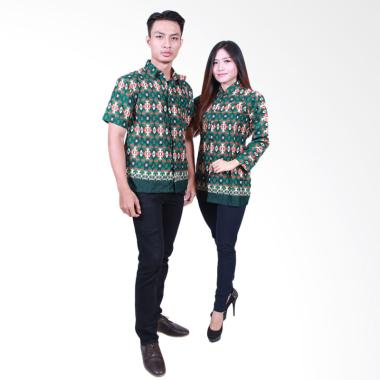 Jual Baju Batik Couple Model Terbaru 2018 Harga Murah Blibli Com