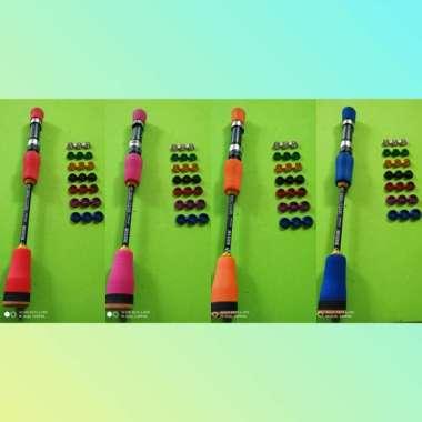 harga Reel seat uk 16 spining busa eva warna super hard 1 set model japstyle Multicolor Blibli.com