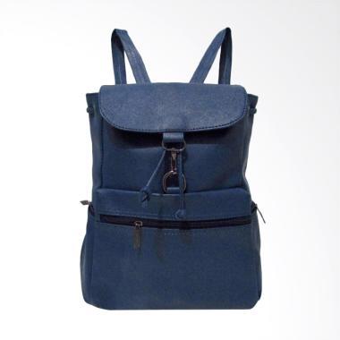 NYS 003 Backpack Wanita - Navy Blue
