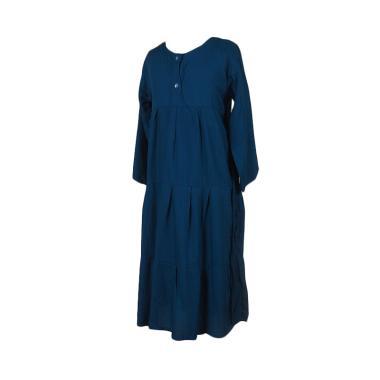 Mukena Dinda Rania Gamis Anak Perempuan - Dark Blue