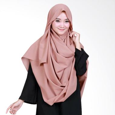 Amella Hijab Kerudung Elsa 07 Jilbab - Brown